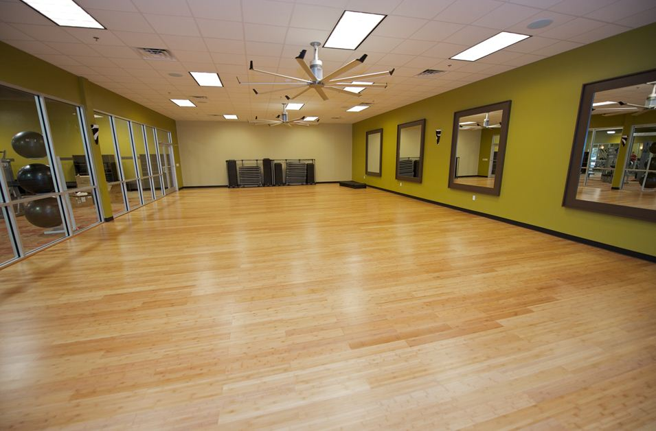 Aerobic Room The Parks Health And Fitness